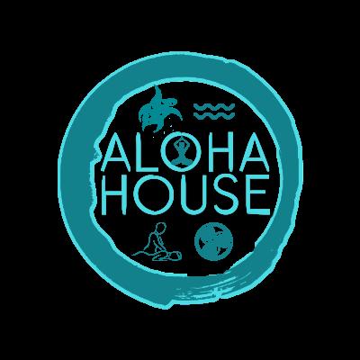 aloha house logo with transparent background