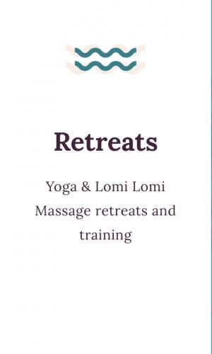 retreats info button